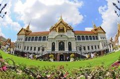 tempel för slott för buddha smaragd storslaget Arkivfoton