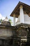 tempel för sri för gadaladeniyakandy lanka Arkivbild