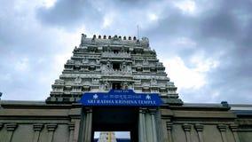 Tempel för Sri radhakrishna Arkivfoton