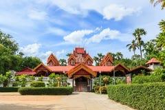 Tempel för Sri rongmuang Royaltyfri Foto