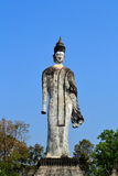 Statybuddism i thailand Arkivfoto