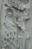 tempel för sten för si för buddha keklok royaltyfri bild