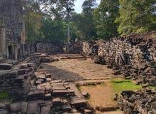 Tempel för Ta Prohm arkivfoto