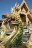 TEMPEL FÖR THAILAND LAMPANG WAT CHEDI SAOLANG Royaltyfria Foton