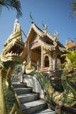 TEMPEL FÖR THAILAND LAMPANG WAT CHEDI SAOLANG Royaltyfri Fotografi