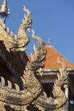 TEMPEL FÖR THAILAND LAMPANG WAT CHEDI SAOLANG Royaltyfri Bild
