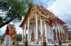 Tempel för Thailand Phuket skönhetslott Royaltyfria Foton