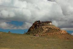 Tempel för tibetan buddism Royaltyfri Bild