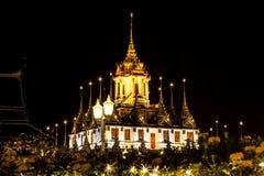 Tempel för Wat ratchanadda Arkivbilder