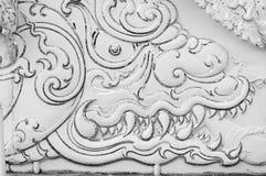 TEMPEL FÖR WAT RONG KHUN, CHIANGRAI Royaltyfria Bilder
