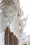 TEMPEL FÖR WAT RONG KHUN, CHIANGRAI Royaltyfri Foto