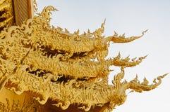 TEMPEL FÖR WAT RONG KHUN, CHIANGRAI Royaltyfri Bild