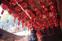 Tempel för Xiacheng stadsgud Royaltyfri Bild