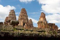 tempel för angkorcambodia östligt mebon Royaltyfri Foto