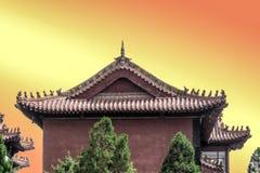 Tempel från Kina Royaltyfri Bild