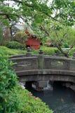 Tempel-Gärten Lizenzfreies Stockbild