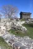 Tempel Garni in de lente Royalty-vrije Stock Fotografie
