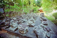 Tempel Goa Gajah, Bali Stockfotografie