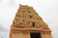 Tempel Gopuram Royaltyfri Bild