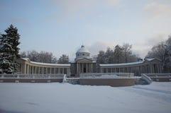 Tempel-Grab-Kolonnade Stockfotografie