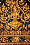 Tempel in groot paleis Bangkok Thailand royalty-vrije stock foto's