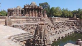 Tempel Gujarats Sun Stockfotografie