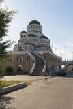 Tempel-Heiliger Antlitz von Christus der Retter in der Regelung Adler, Sochi Stockfotografie