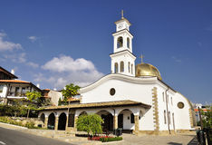 Tempel-Heiliges Vlasiy-Kirche in Bulgarien Lizenzfreies Stockbild