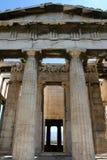 Tempel Hephaisteion (Theseion) Royalty-vrije Stock Fotografie