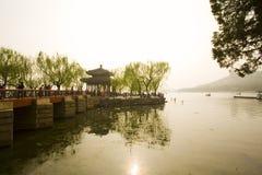 Tempel in het Paleis van de Zomer, Peking Royalty-vrije Stock Foto's