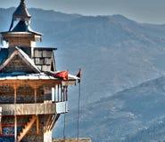 Tempel in Himalaja Lizenzfreies Stockbild