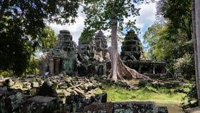 Tempel i Angkor område Royaltyfri Foto