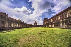 Tempel i Angkor Wat Royaltyfri Bild