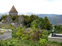 Tempel i Armenien Arkivfoton