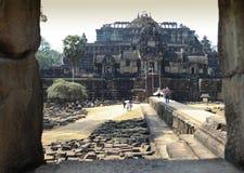 Tempel i avståndet Arkivfoto