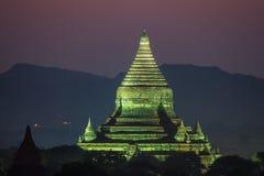 Tempel i Bagan Arkivbilder