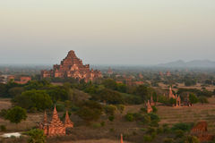 Tempel i Bagan Royaltyfri Fotografi