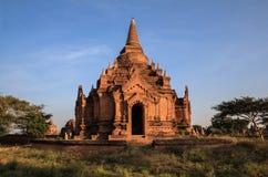 Tempel i Bagan, Myanmar. Royaltyfri Bild