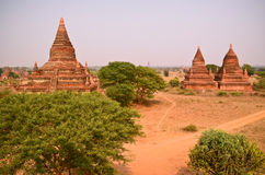 Tempel i Bagan Myanmar Royaltyfri Bild