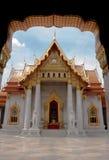 Tempel i Bangkok, Thailand Arkivfoto