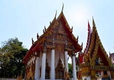 Tempel i bangkok, Thailand, Asien Arkivfoton