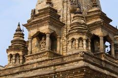 Tempel i Bhaktapur Arkivbilder