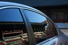 Tempel i bilen Royaltyfri Foto