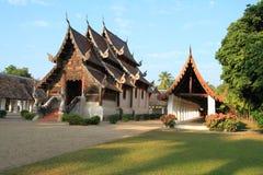 Tempel i Chiang Mai Thailand Arkivfoton