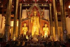 Tempel i Chiang Mai thailand Arkivbilder