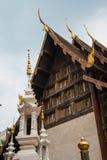 Tempel i Chiang Mai, Thailand Arkivbilder