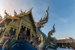 Tempel i Chiang Rai Thailand Royaltyfri Fotografi