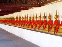 Tempel i Demokratiskaet folkrepubliken Laos Arkivfoton