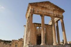 Tempel i den forntida staden Royaltyfri Foto
