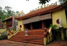 Tempel i den traditionella arkitektoniska stilen av öst, Hai D Arkivbild